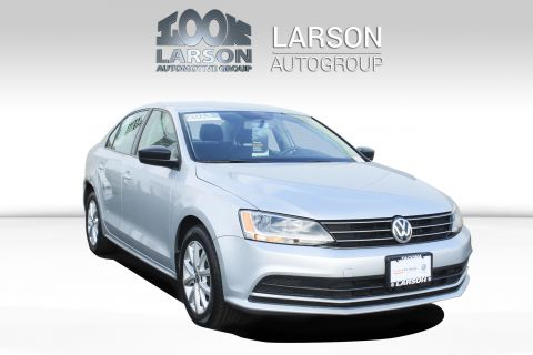 Certified Pre-Owned 2015 Volkswagen Jetta Sedan